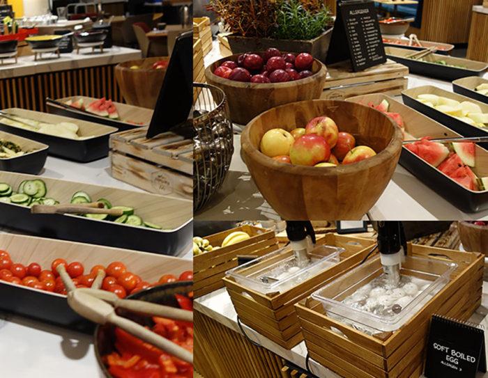 ラディソン ブル エアポート ホテル オスロRadisson Blu Airport Hotel, Oslo Gardermoen 朝食