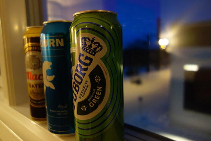 ホテルスカンディック キルケネス (Scandic Kirkenes) ノルウェーのビール