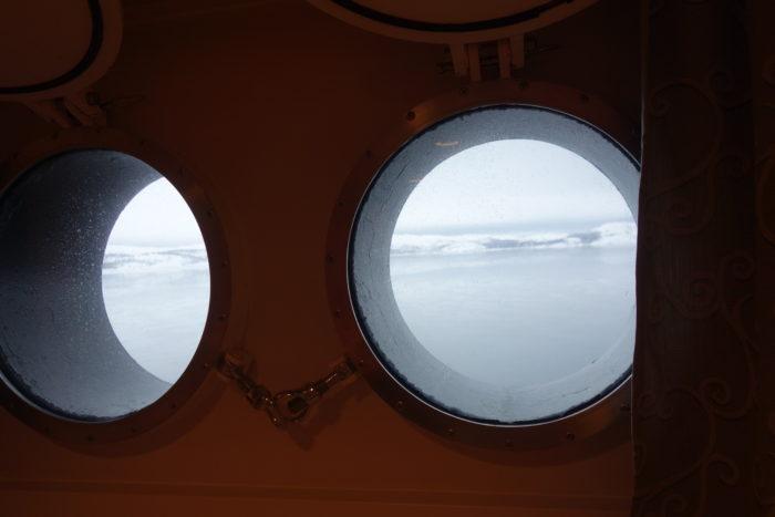 ノルウェー個人旅行、沿岸急行船・Hutigrutenフッティルーテン・船室