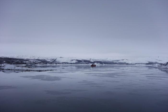 ノルウェー個人旅行、沿岸急行船・Hutigrutenフッティルーテン・キルケネス港