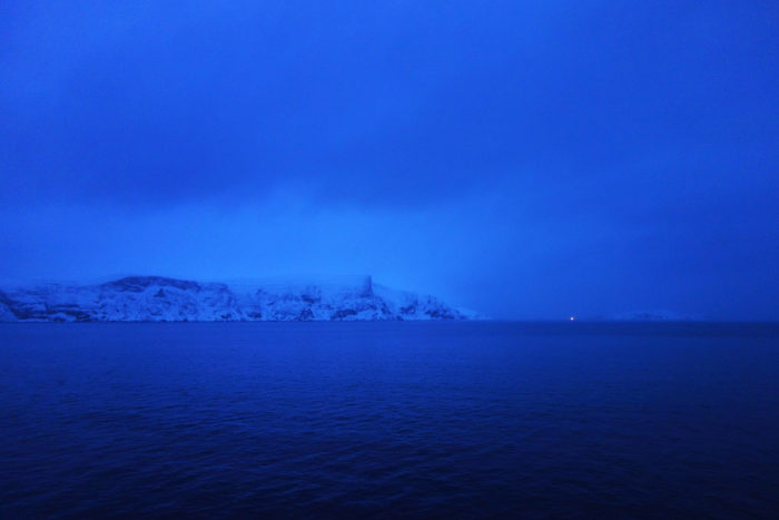 ノルウェー個人旅行、沿岸急行船・Hutigrutenフッティルーテン